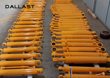 Long Stroke Chromed Fee Double Acting Cylinder hydrauliczny Hoist Hallite / NOK Seals